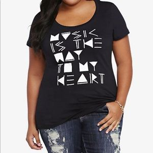 Torrid Music Is The Way To My Heart Graphic Tee